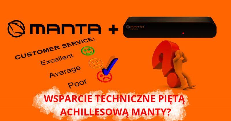 Manta – wsparcie techniczne na wadliwy produkt ( DVBT06SXT2 ).