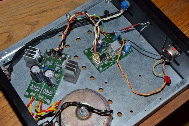 Wzmacniacz słuchawkowy TPA6120