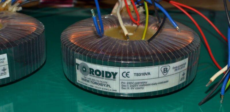 Transformator audio dla wzmacniacza Ugoda.