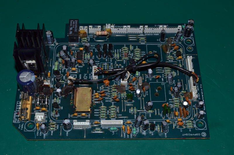 Cambridge Audio Azur 340c, płyta główna.