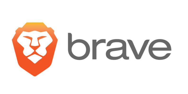 Logo przeglądarki Brave.