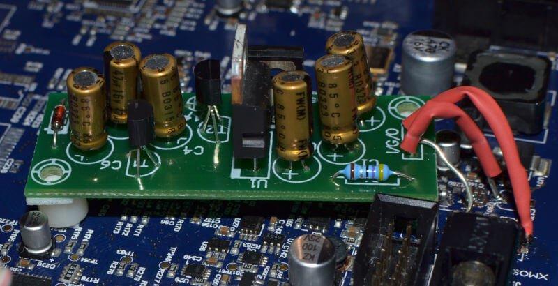 Cambridge Audio DacMagic Plus, stabilizator.