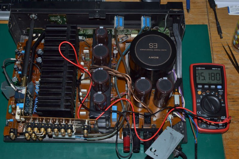 Wzmacniacz Sony TA-F670ES - pomiar.