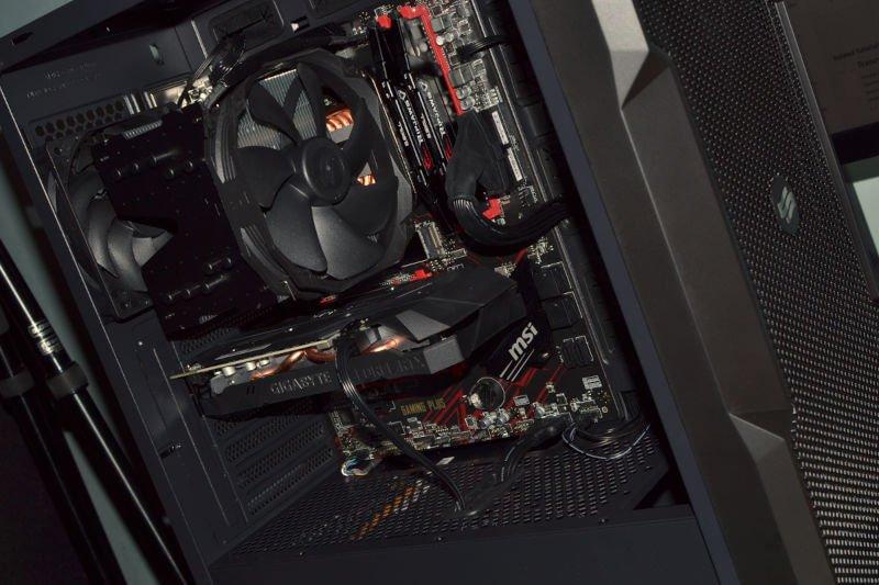 Komputer PC.